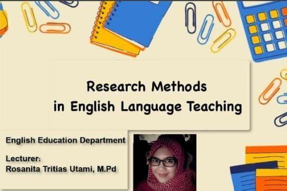 Research Methods in English Language Teaching